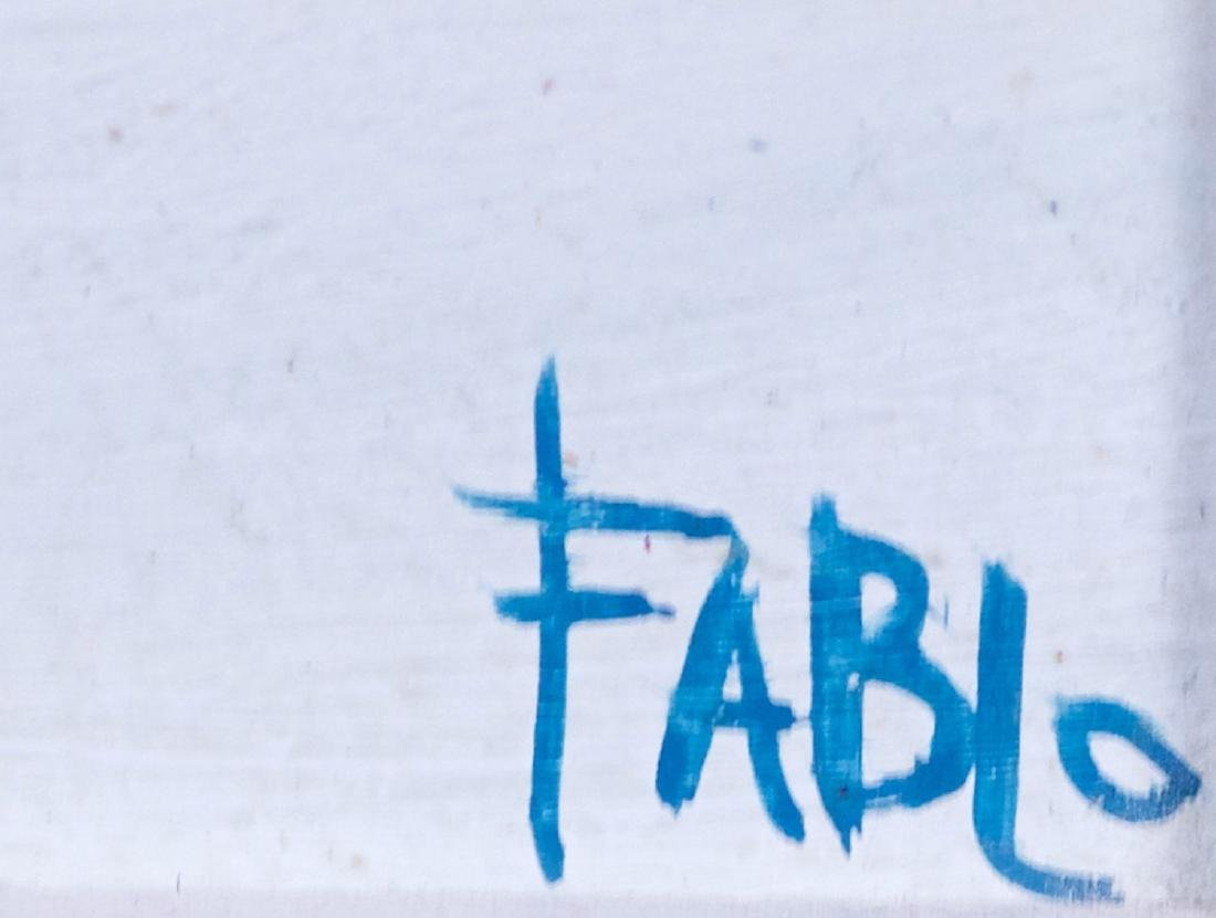 Fablo, Serge Ventadour (1937- ) Tour d'ivoire - 3