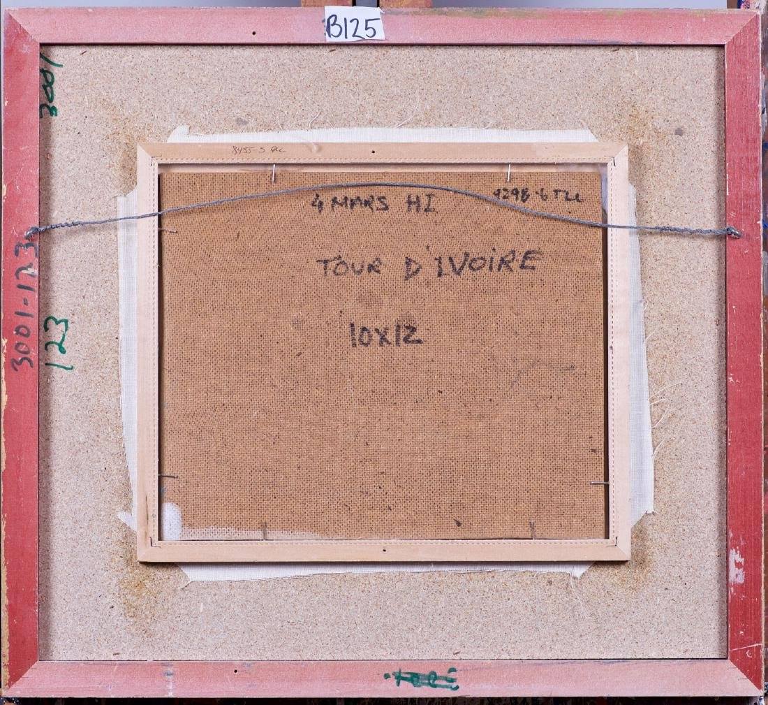 Fablo, Serge Ventadour (1937- ) Tour d'ivoire - 4