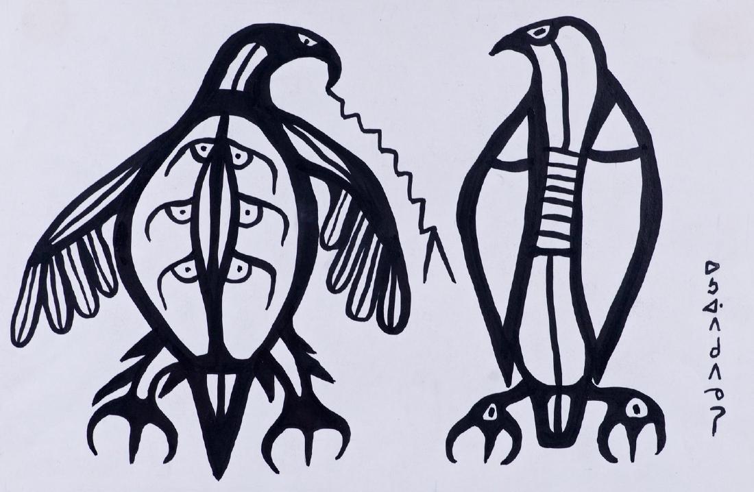 Morrisseau, Norval H. (1931-2007) Thunderbirds (C. 1965