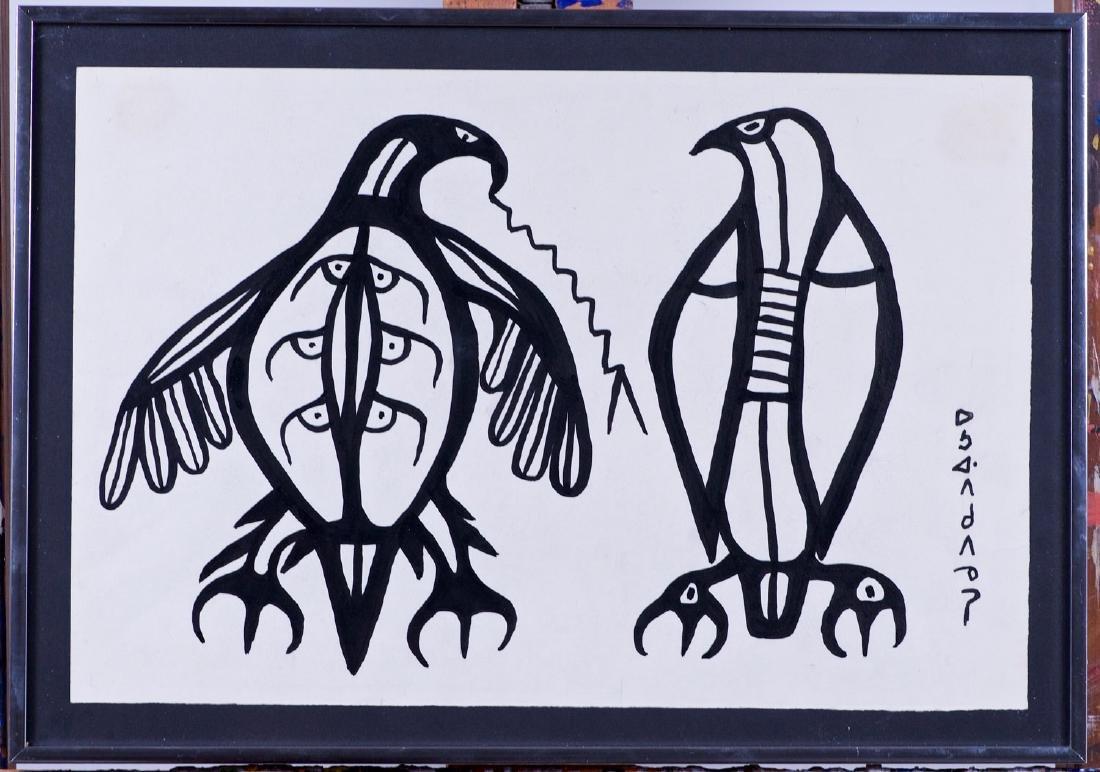 Morrisseau, Norval H. (1931-2007) Thunderbirds (C. 1965 - 2