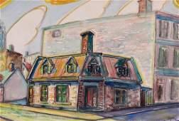 Pépin, Jean-Paul (1894-1983) Le petit magasin, vieux