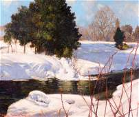 Johnston, Francis Hans (1888-1949)  Winter sun