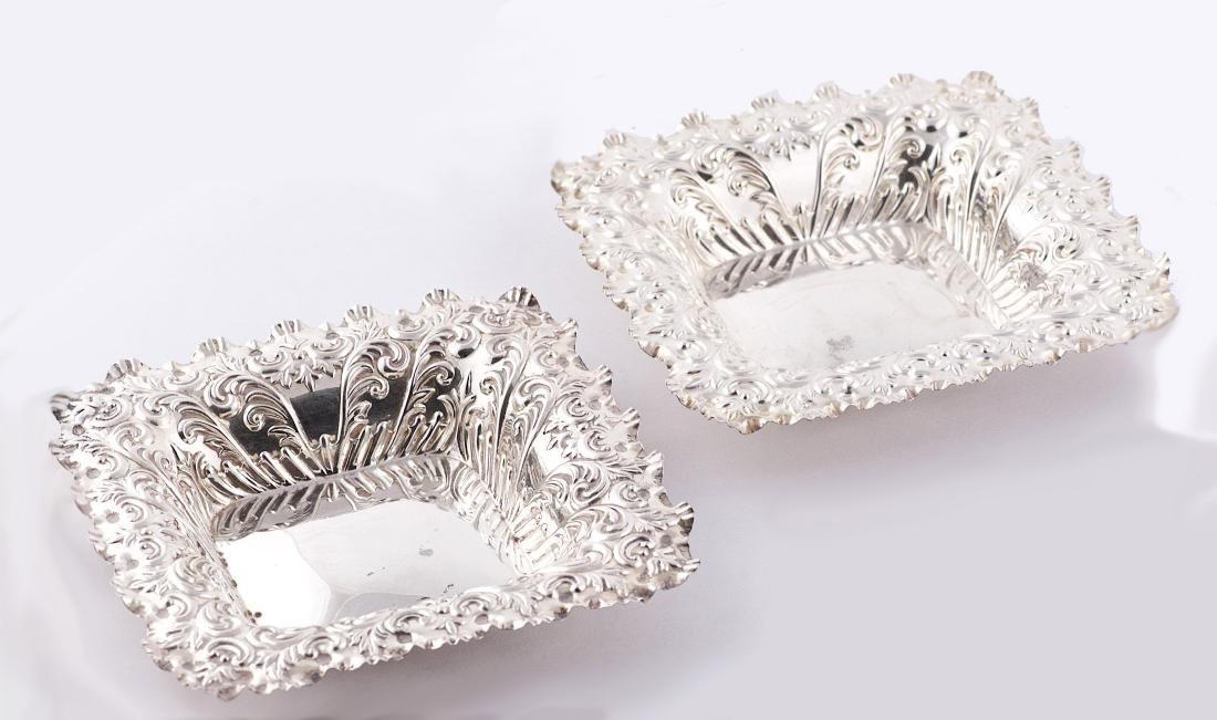 Hamilton & Inches Victoria, Set of two sterling silver