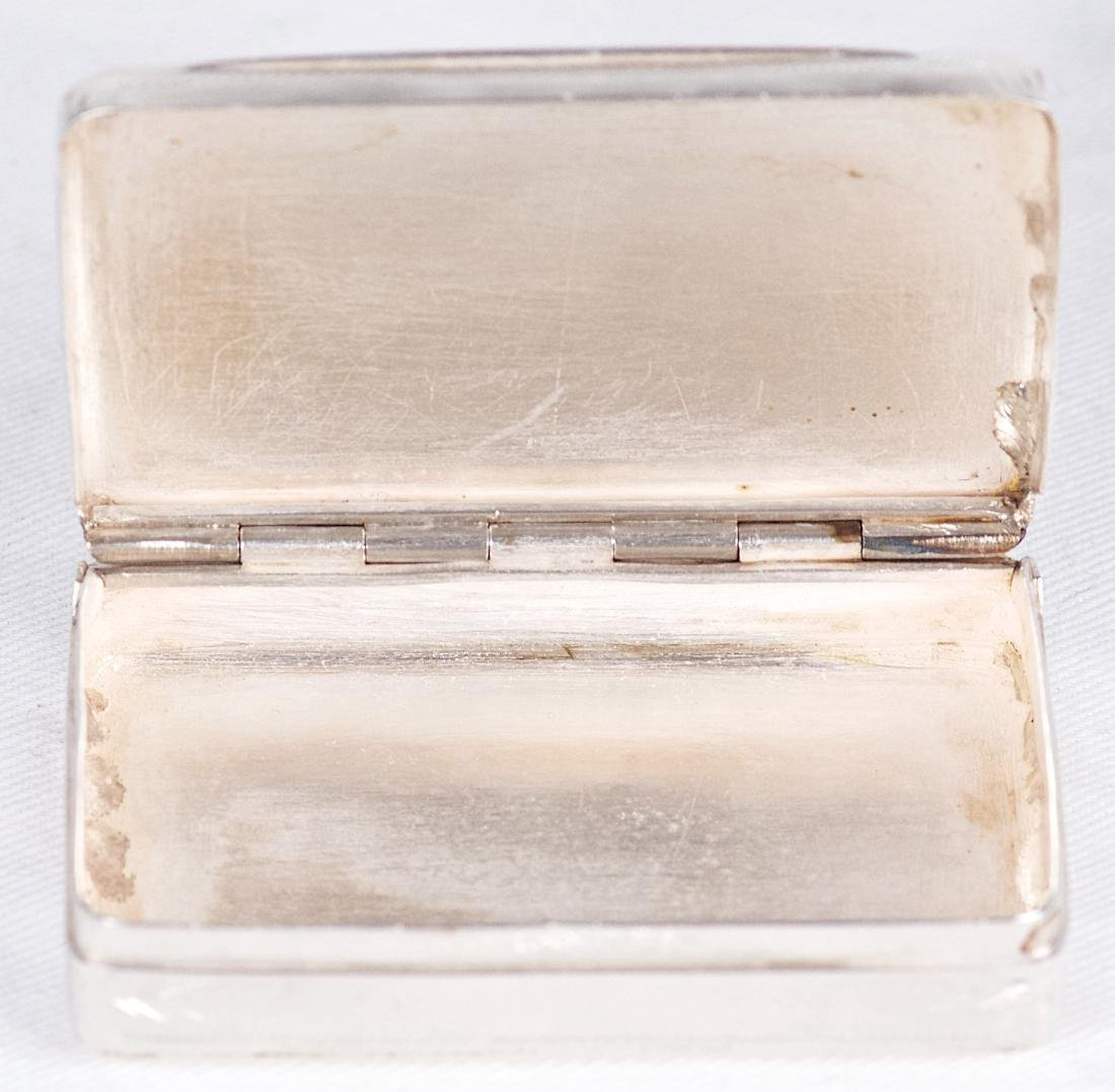 Albert Coles Sterling silver snuffbox, United-States, - 3