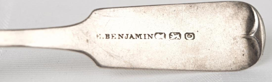 Everard Benjamin .900 silver spoon, United States, New - 2