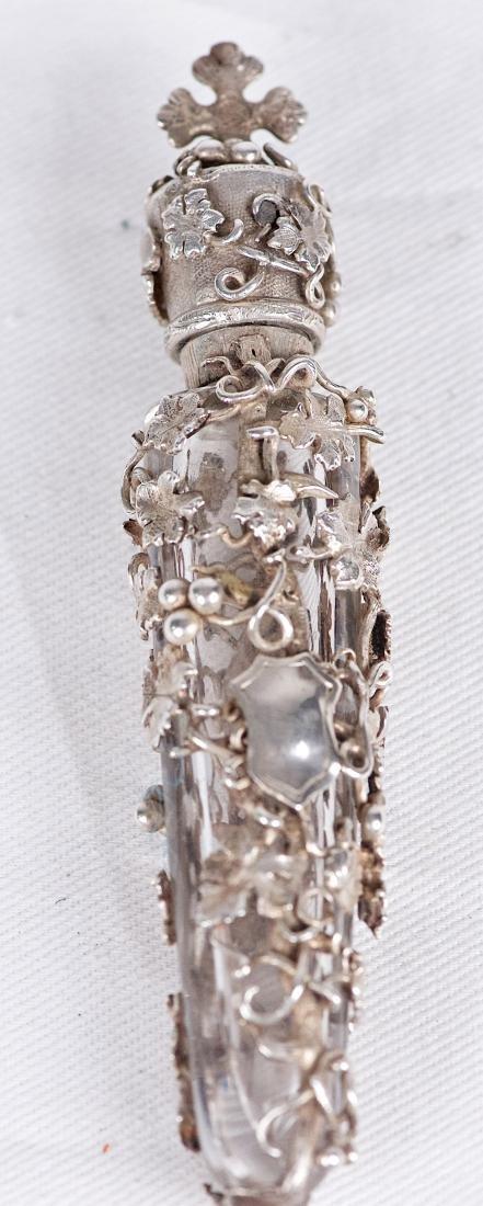 Unknown, .800 silver parfum bottle, France (XIX-XX) - 2