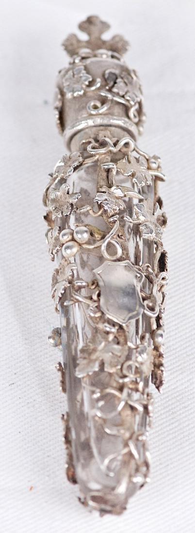 Unknown, .800 silver parfum bottle, France (XIX-XX) - 3