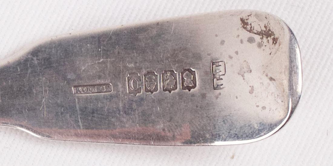 Thomas Townsend, George III, Sterling silver spatula, - 3