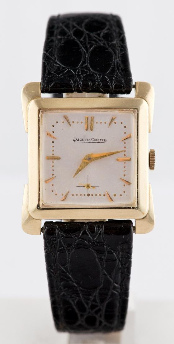 Vintage 14k Gold Jaeger LeCoultre Square Watch