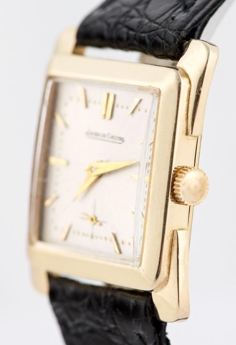 Vintage 14k Gold Jaeger LeCoultre Square Watch - 2