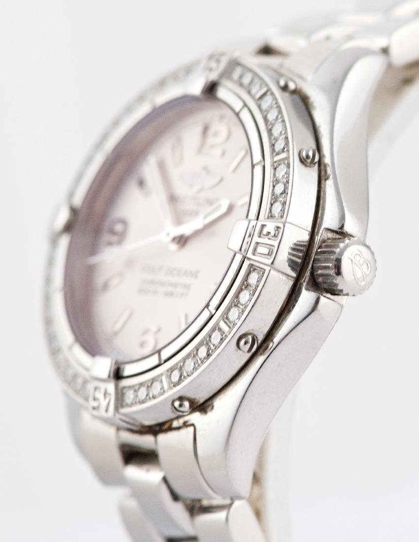 Breitling Colt Oceane with Diamond Bezel Lady Watch - 2