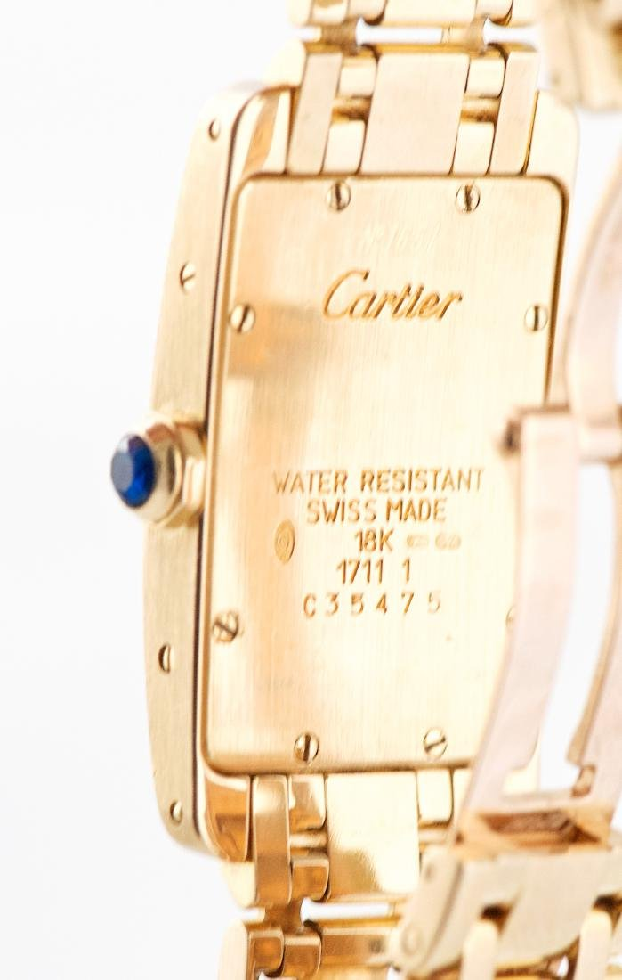 Cartier Tank Américaine 18K Gold Ref 1711 - 3