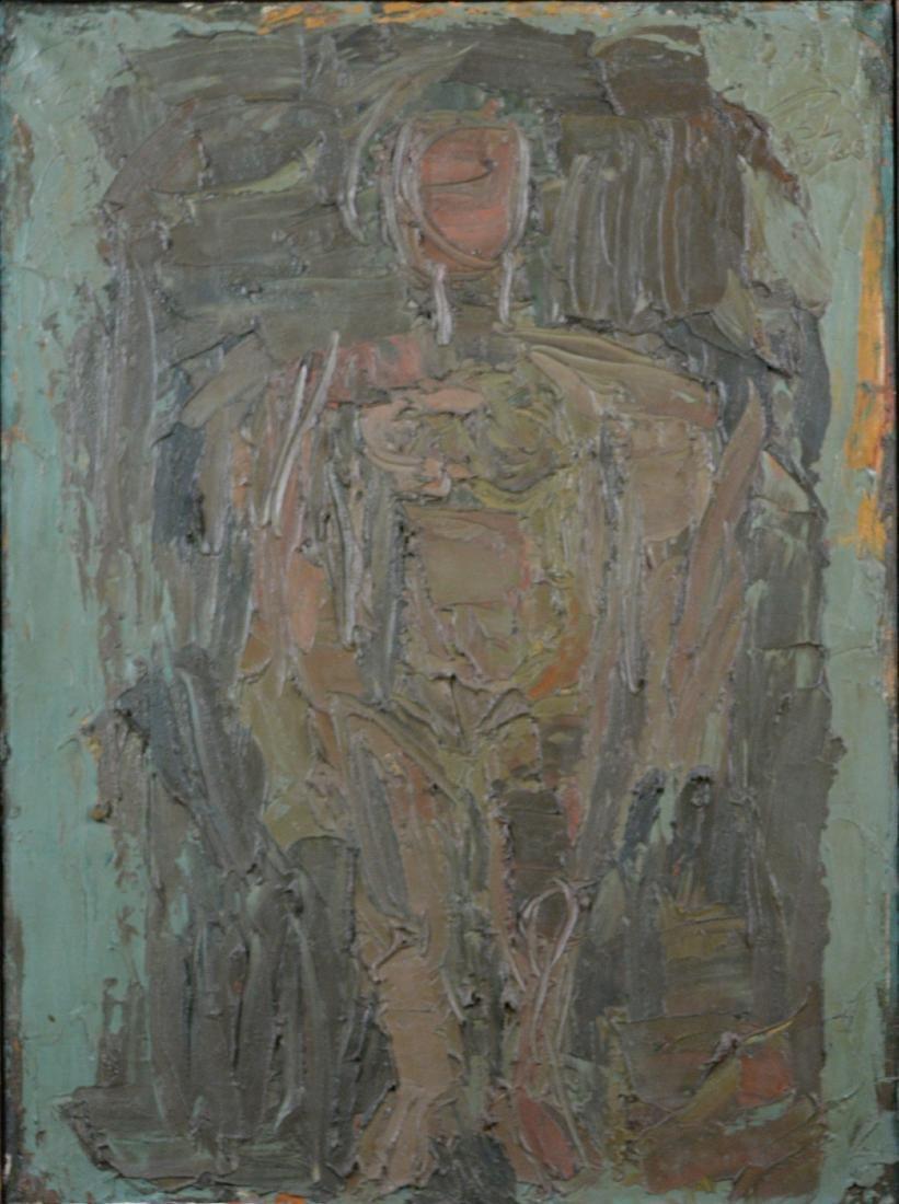 Lewitt, Sol - Standing figure - 1960