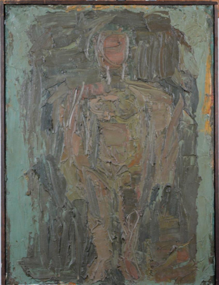 Lewitt, Sol - Standing figure - 1960 - 2