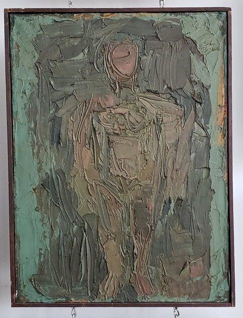 Lewitt, Sol - Standing figure - 1960 - 4