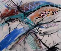Gaudreau Jean  Abstraction  1990