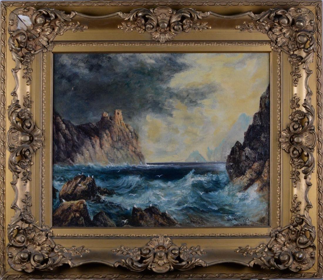 Adamson, W (XIX-XX) - Near the Ocean (1917)