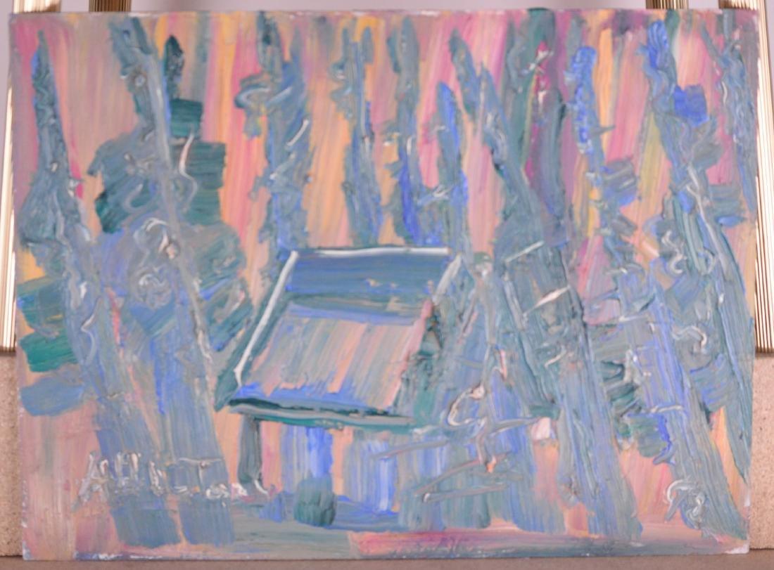 Bluteau, Alban (1923-2015) - Maison (1992)