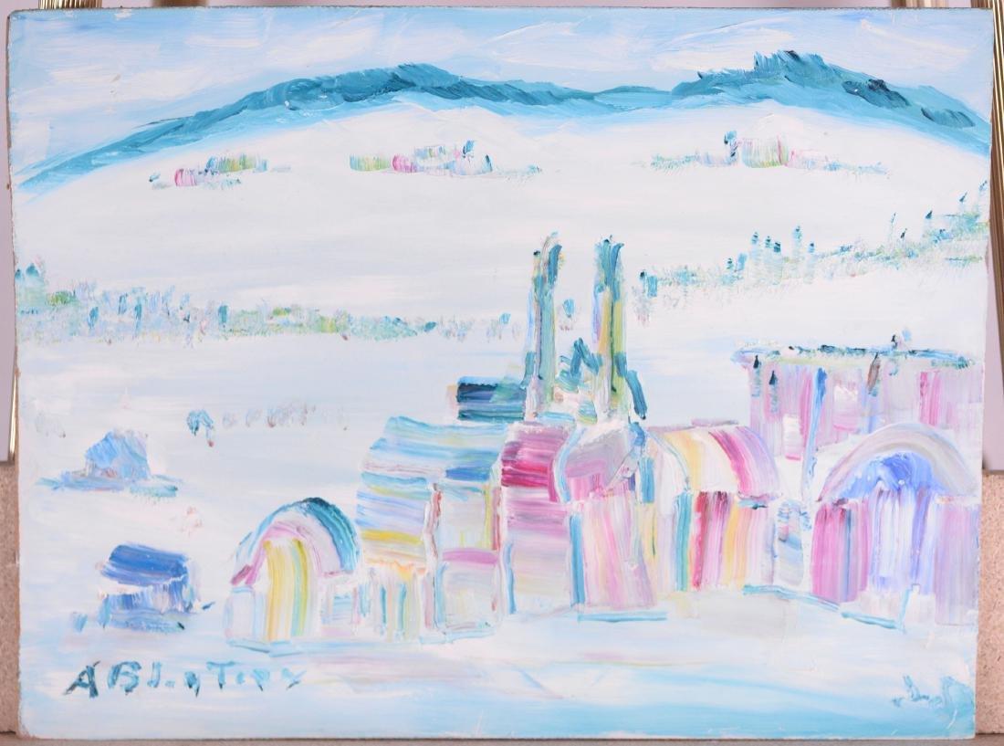 Bluteau, Alban (1923-2015) - Baie-St-Paul (1988)