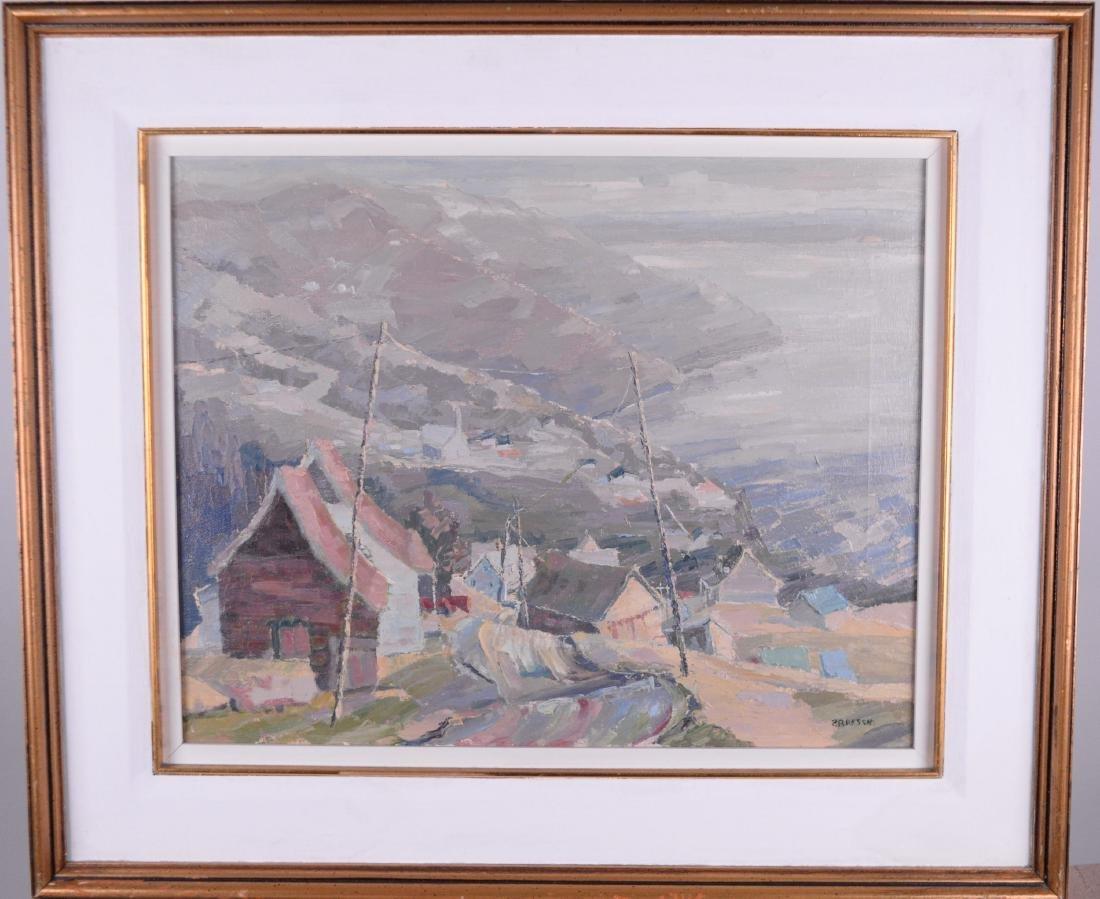 Bressan, Pauline (1944-) - Vue sur le fleuvre, Rang