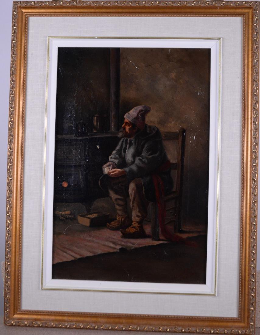 Brosseau, Marie Louise (XIX-XX) - Homme assis (1912)