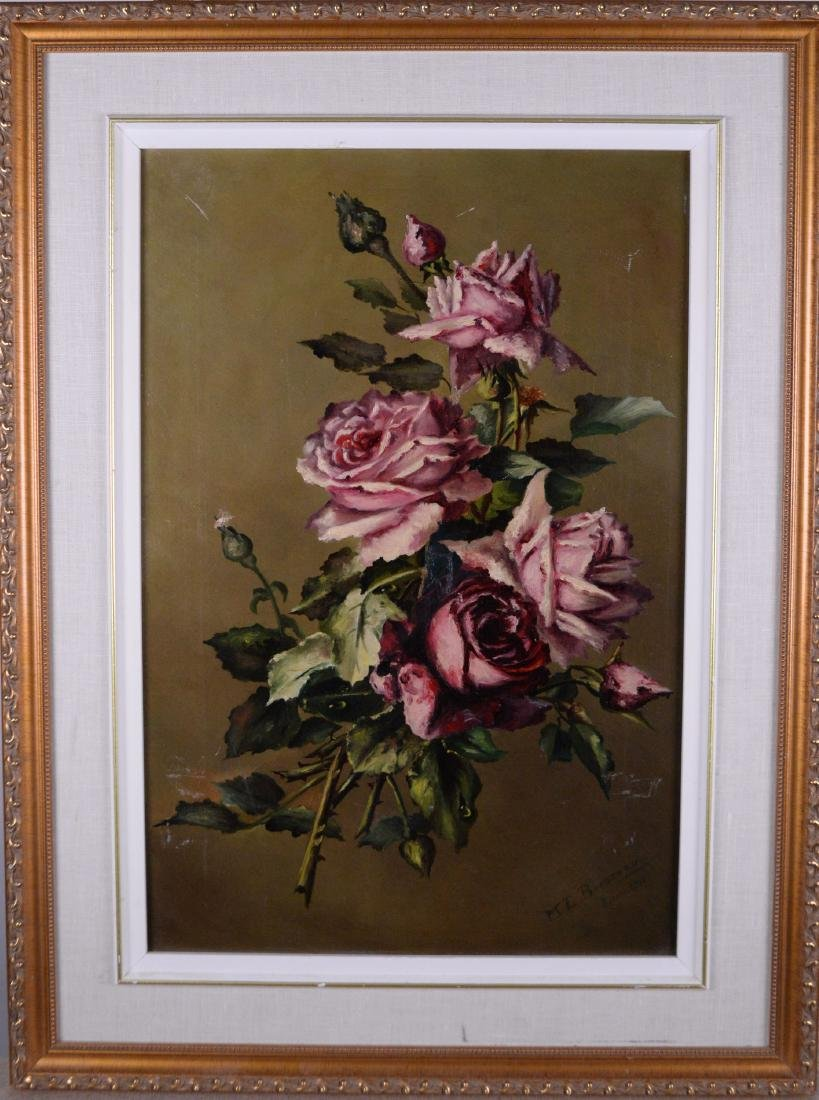 Brosseau, Marie Louise (XIX-XX) - Roses (1911)