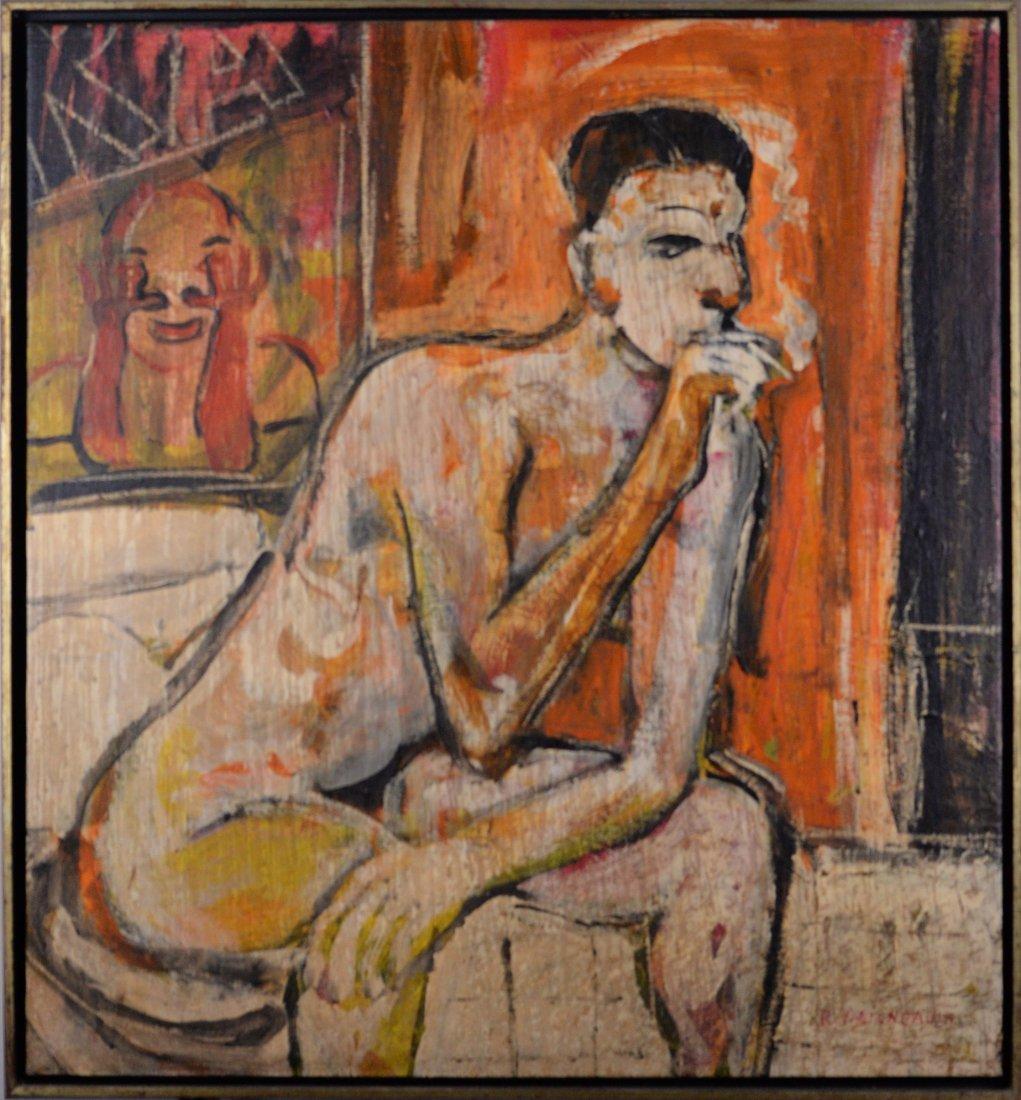 Daigneault, Robert (1943-) - Une cigarette sur le