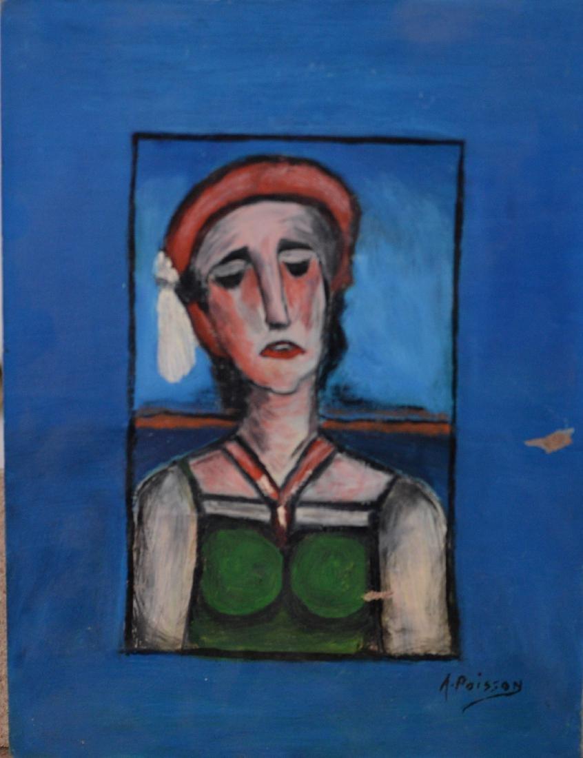 Poisson, A (XX) - Portrait de femme