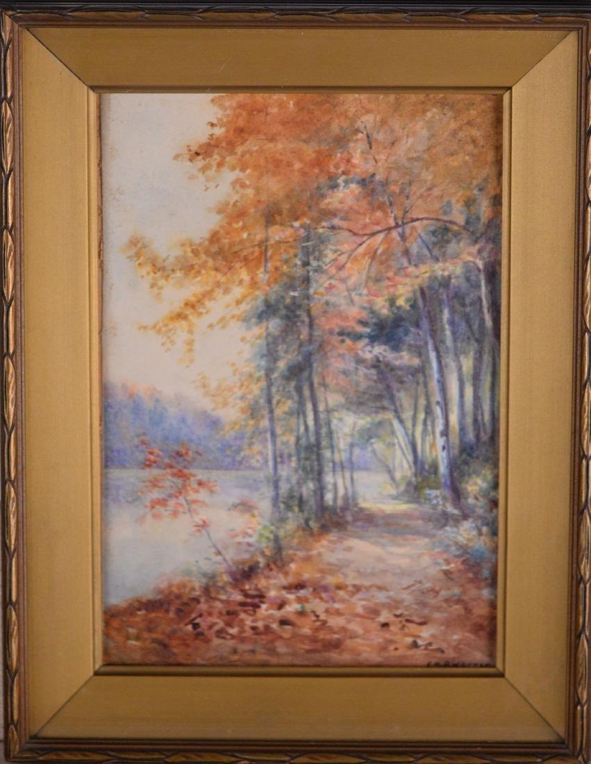 Warren, Emily Mary Bibbens (1869-1956) - Fall Lake View