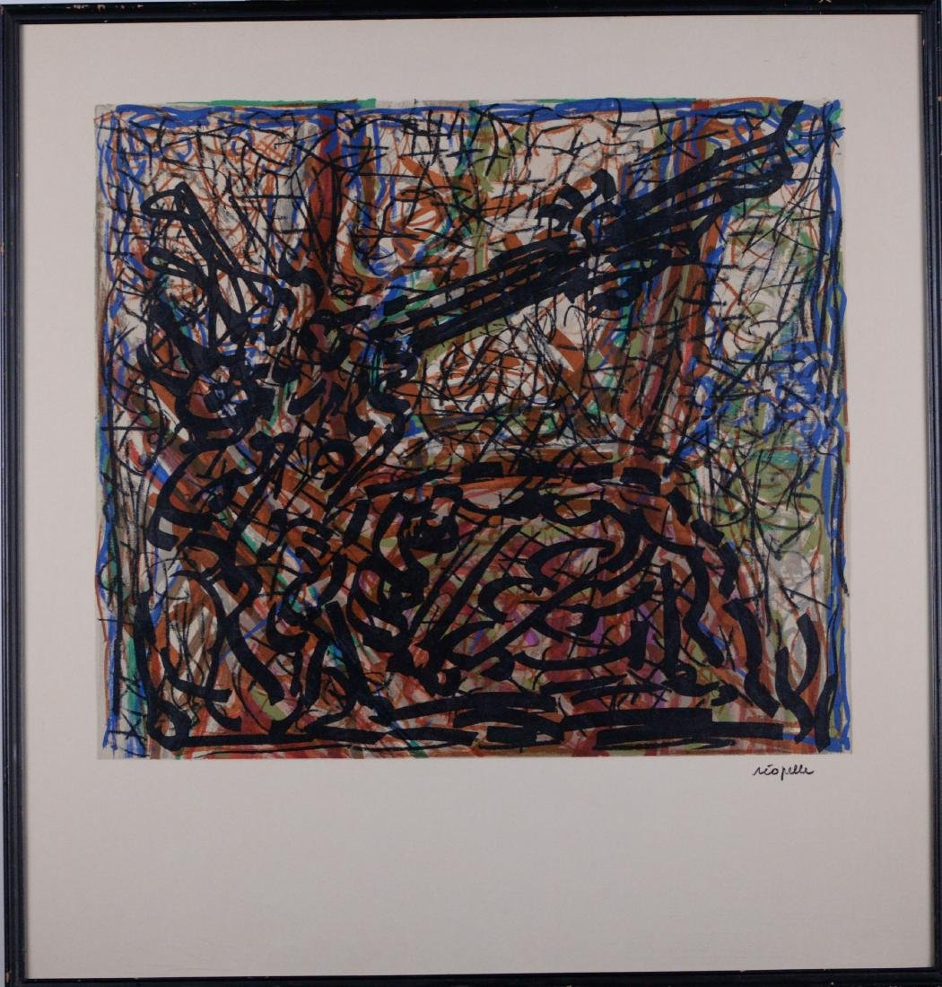 Riopelle, Jean-Paul (1923-2002) - Abstraction