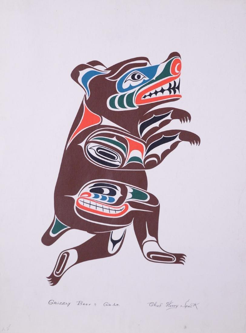 Speck, Chief Henri (1908-1971) - Grizzly Bear, Gia-La