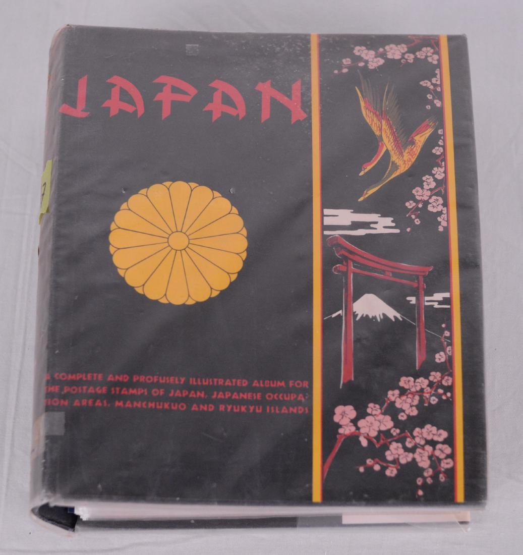 Collection de timbres, Japon (1883-1977)