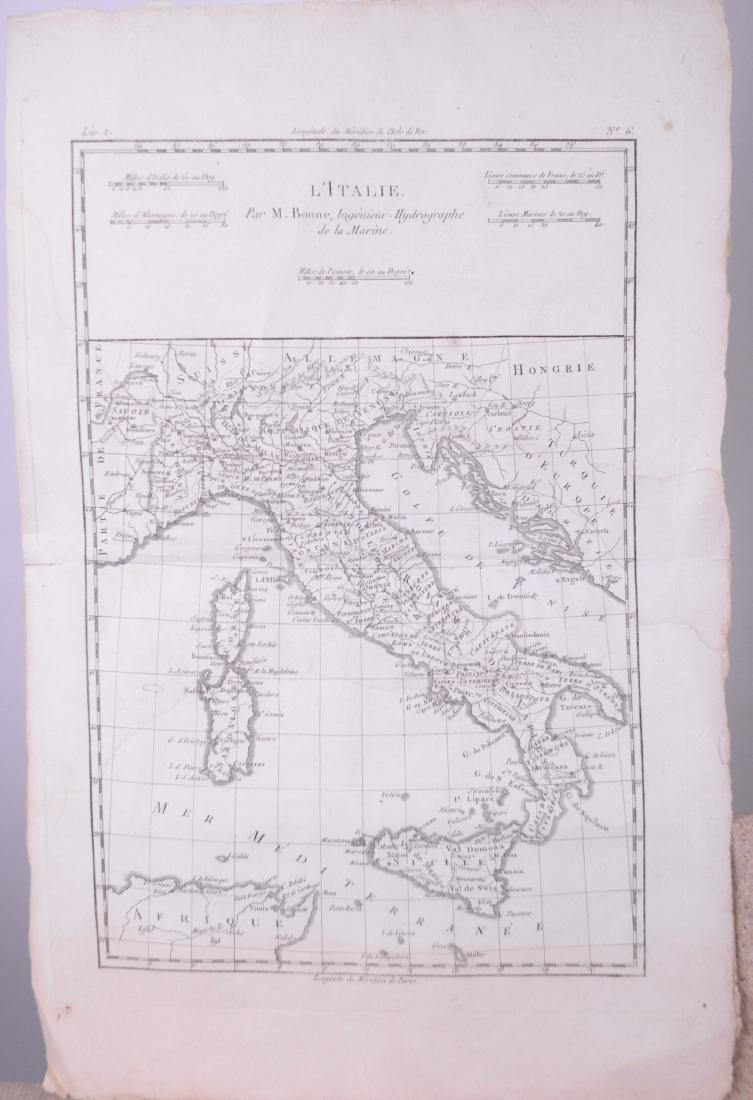 Bonne, Rigobert (1727 - 1794) (France) - Carte d'Italie