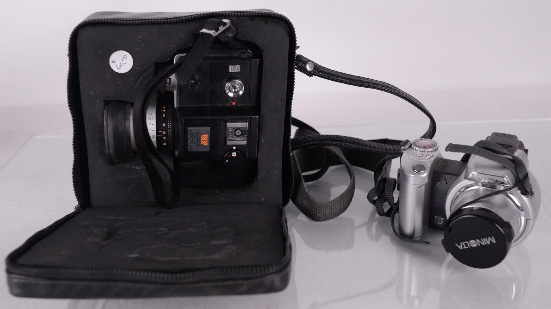 Minolta (Japon / Japan) - Deux appareils photo Minolta