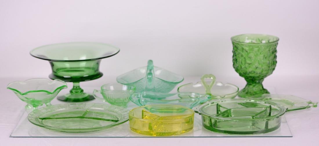 Vaisselle en verre (x11)