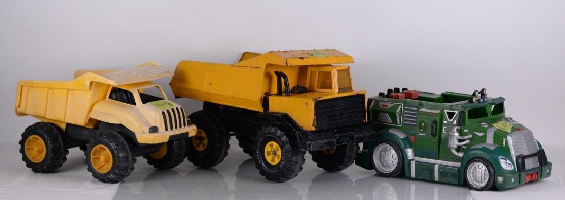 Tonka, Toy State, Playmates Toys (XX) - Trois camions