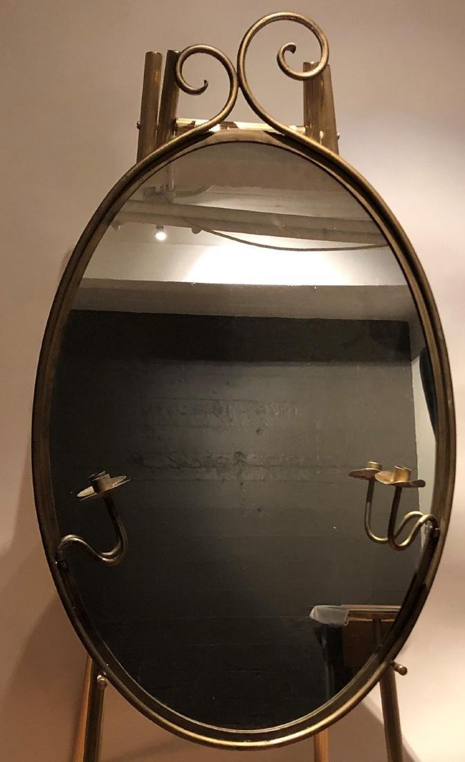 (XX)Miroir mural ovale