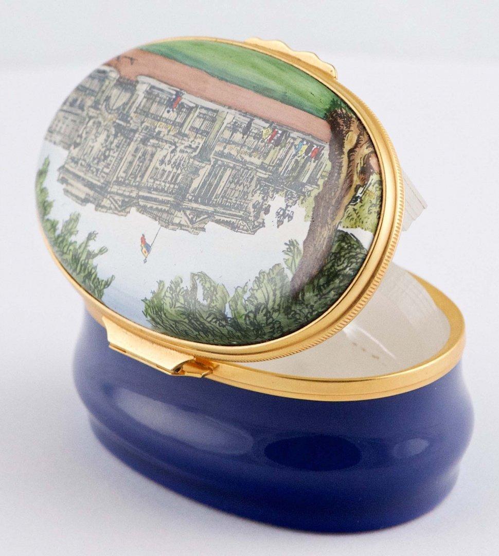 Halcyon Days Enamel, Buckingham palace Small porcelain