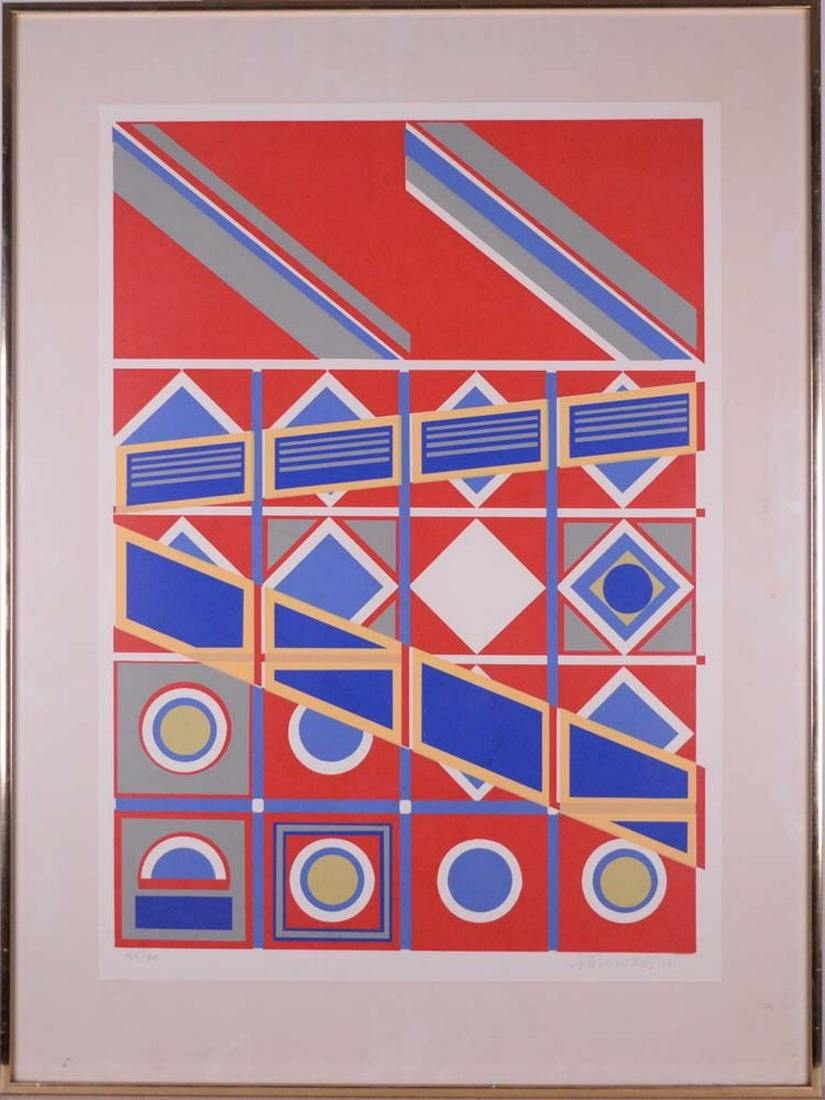 Bervoets, Hendricus - Abstractions - 1971