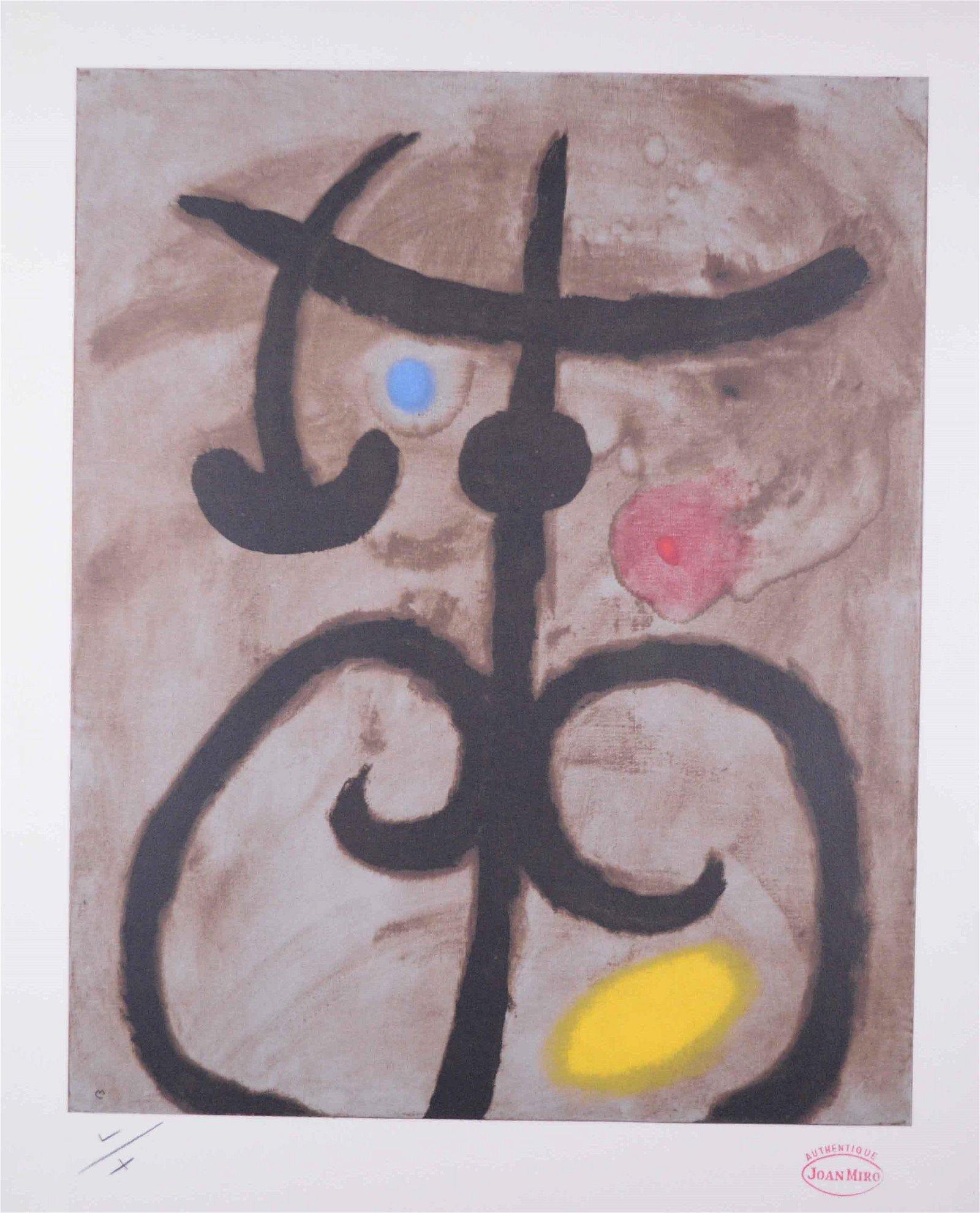 Miro, Joan - Abstraction -