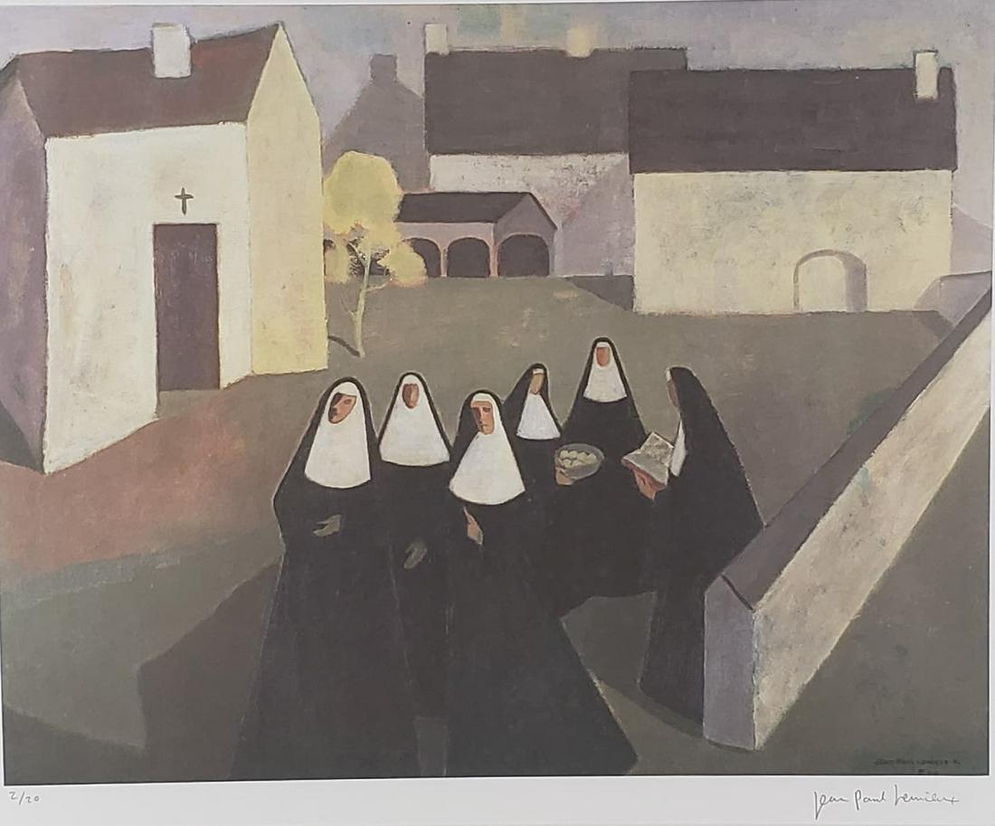 Lemieux, Jean-Paul - Les ursulines -