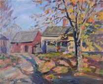 Curtin, Thomas R. - House in Autumn