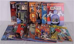 Jacobs, Edgar P. - Lot de 15 albums de bandes dessinées