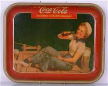 CocaCola  Original tray Sailor Girl