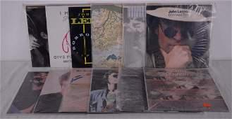 Lennon, John - Collection of 12 different vinyl