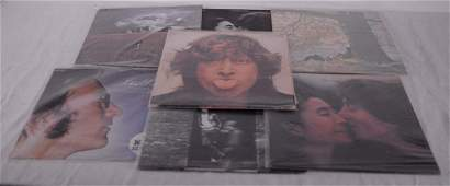 Lennon, John - Collection of 8 different vinyl records,