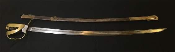 Antique sword, saber