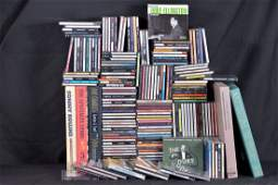 Lot of 220 jazz and blues CDs