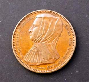AUSTRIA 1479-1530 Princess Marguerite AE-34 14.5 gms.