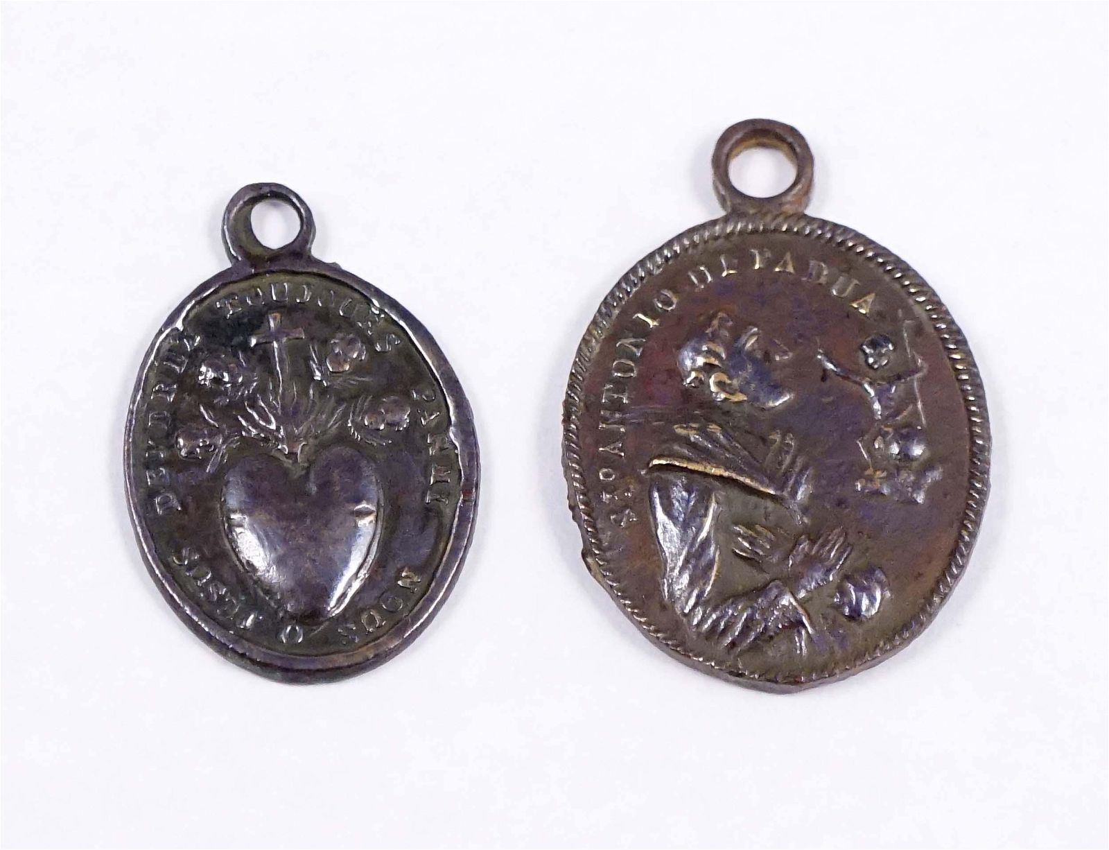 CANADA 1800-1900 A lot of 2 Religious Medals Used in